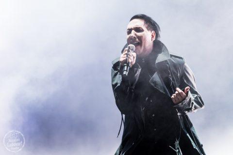 Il s'agit du concert de Marilyn Manson Hellfest 2018