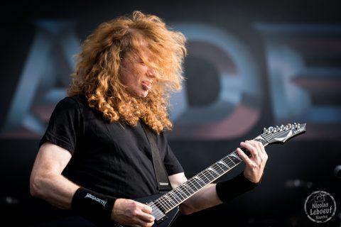 Il s'agit du concert de Megadeth Hellfest 2018