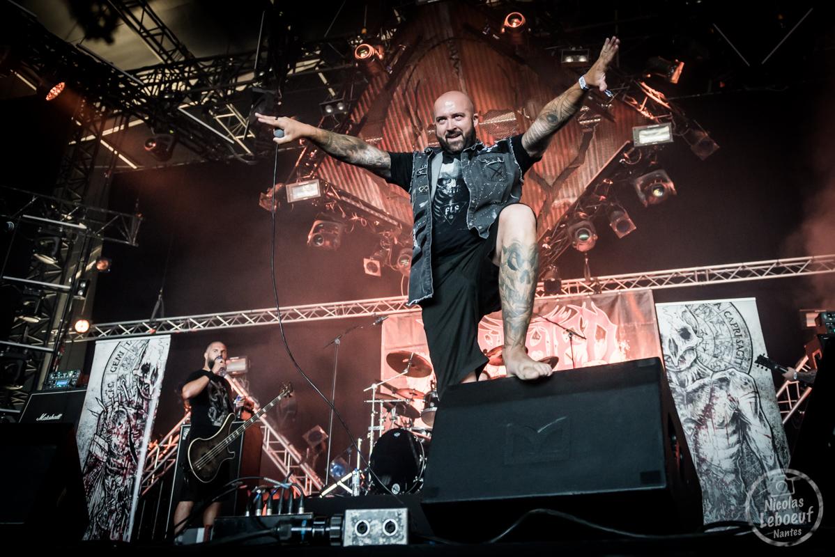Il s'agit du concert de Benighted Hellfest 2018