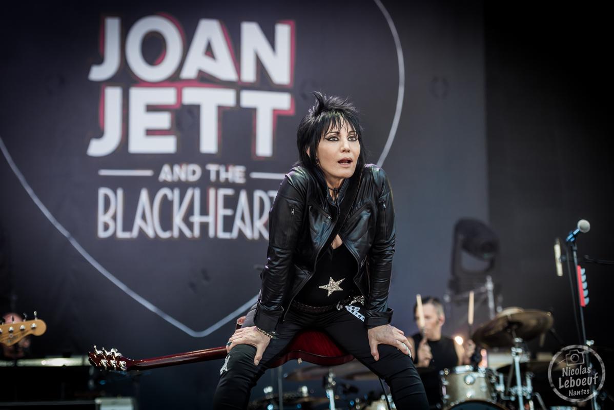 Il s'agit du concert de joan jett & the blackhearts Hellfest 2018