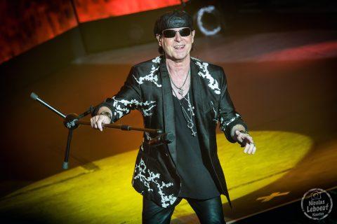 Il s'agit du concert de Scorpions