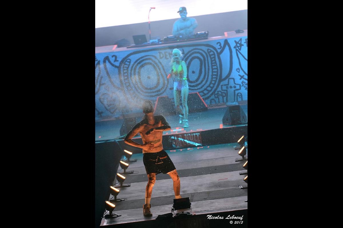 Die Antwoord Concert Leboeuf Live