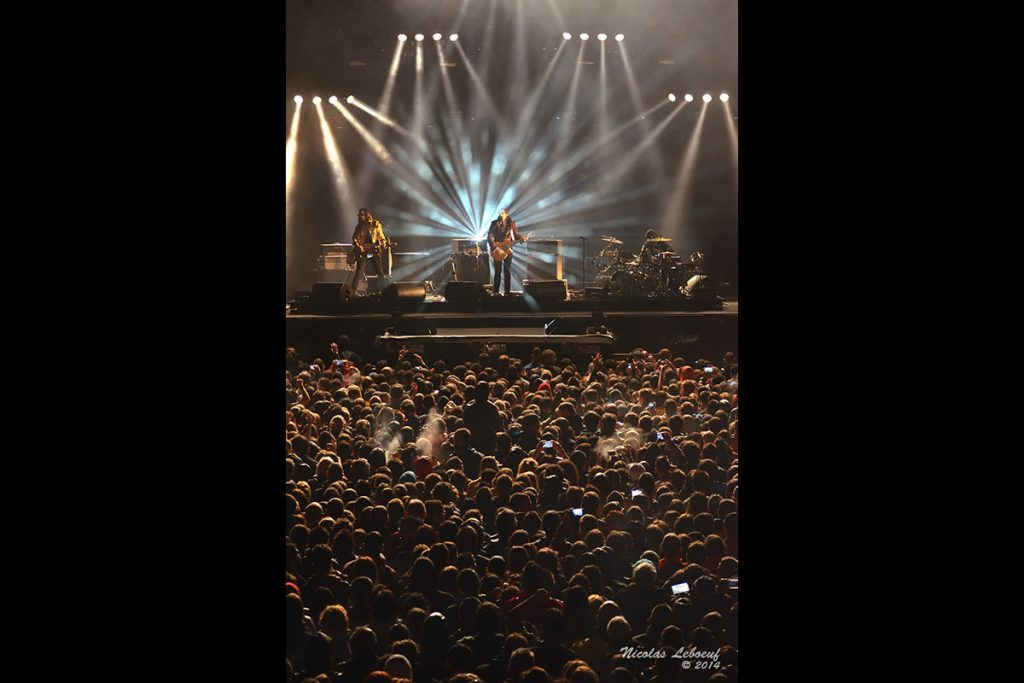 M Mathieu Chedid concert Leboeuf Live