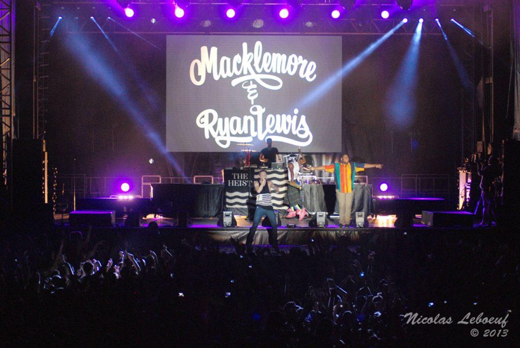 Macklemore Ryan Lewis concert Leboeuf Live