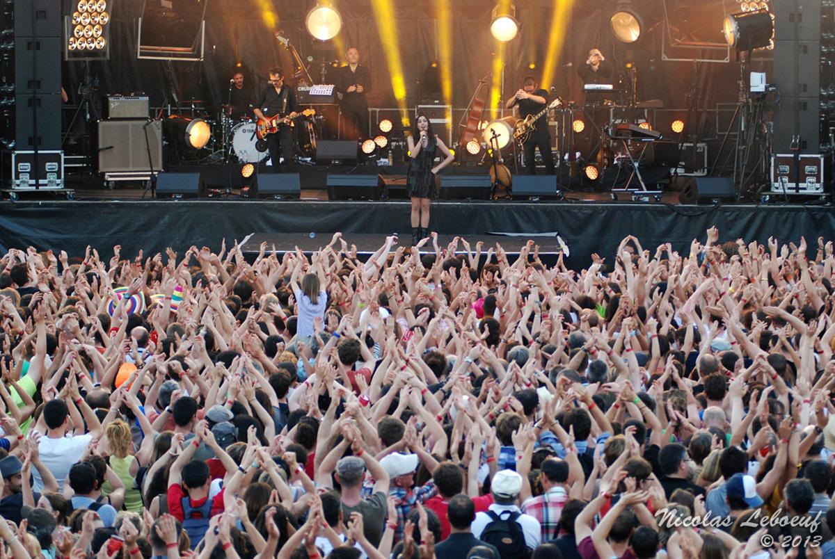 Olivia Ruiz Concert Leboeuf Live