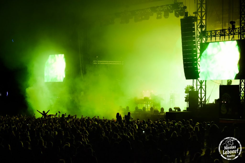 The Chemical Brothers concert Leboeuf Live
