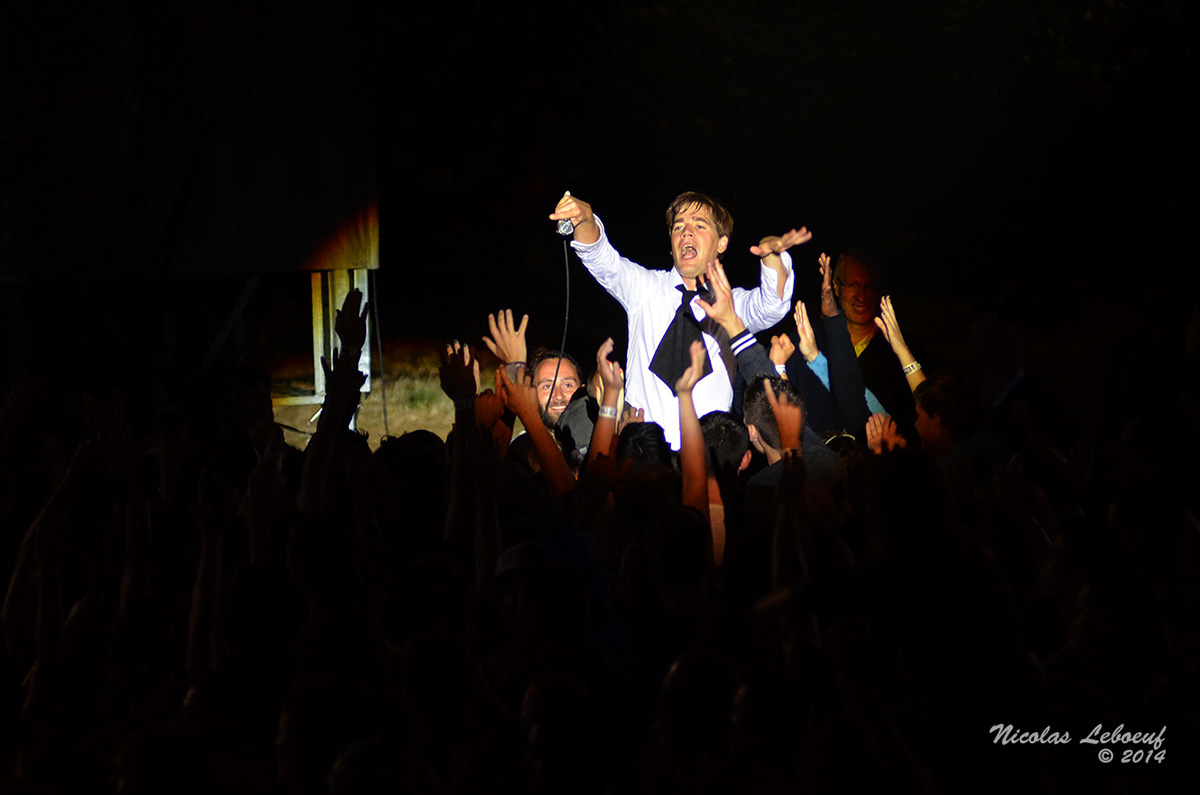 The Hives Groupe Concert Leboeuf Live