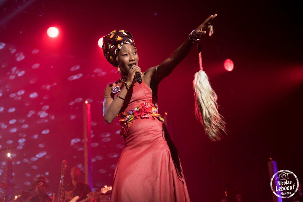 Lamomali Fatoumata Diawara concert live leboeuf