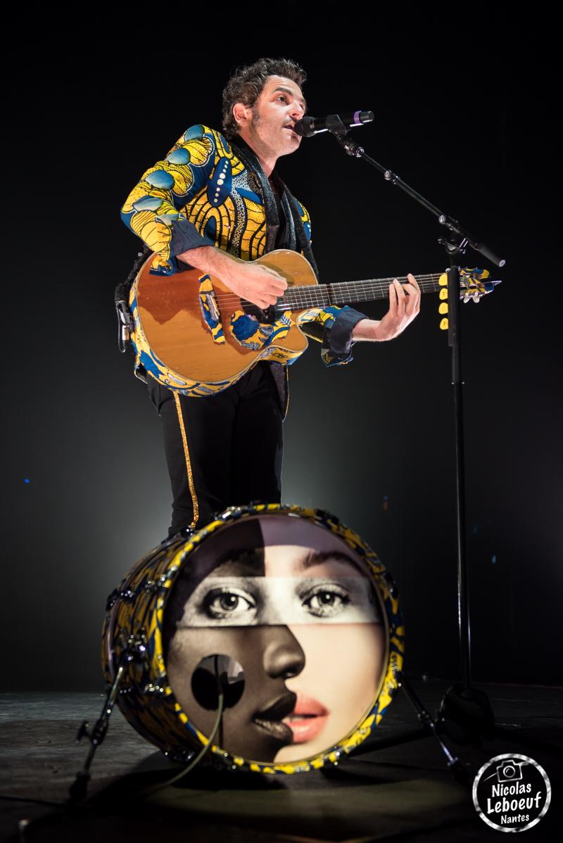 Lamomali Mathieu Chedid Concert Live Leboeuf