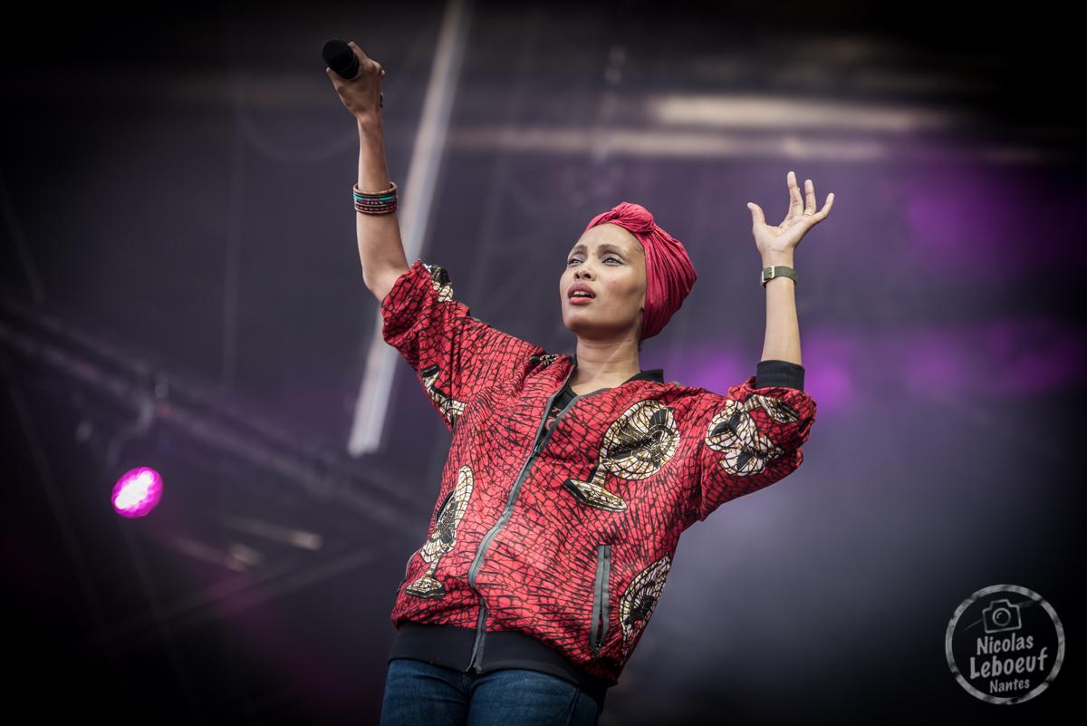 Imany Concert Live Leboeuf