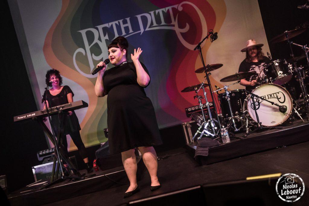 Beth Ditto concert live Nicolas leboeuf