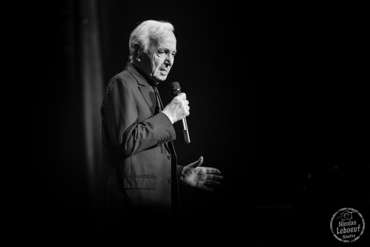 Charles Aznavour Zenith Live Nicolas Leboeuf Photographe