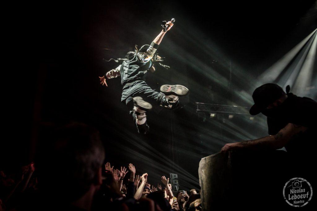Shaka Ponk MonkAdelic zenith live Nicolas Leboeuf Photographe
