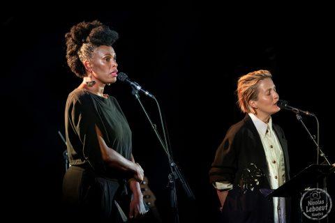 Sandra Nkaké & Jeanne Added