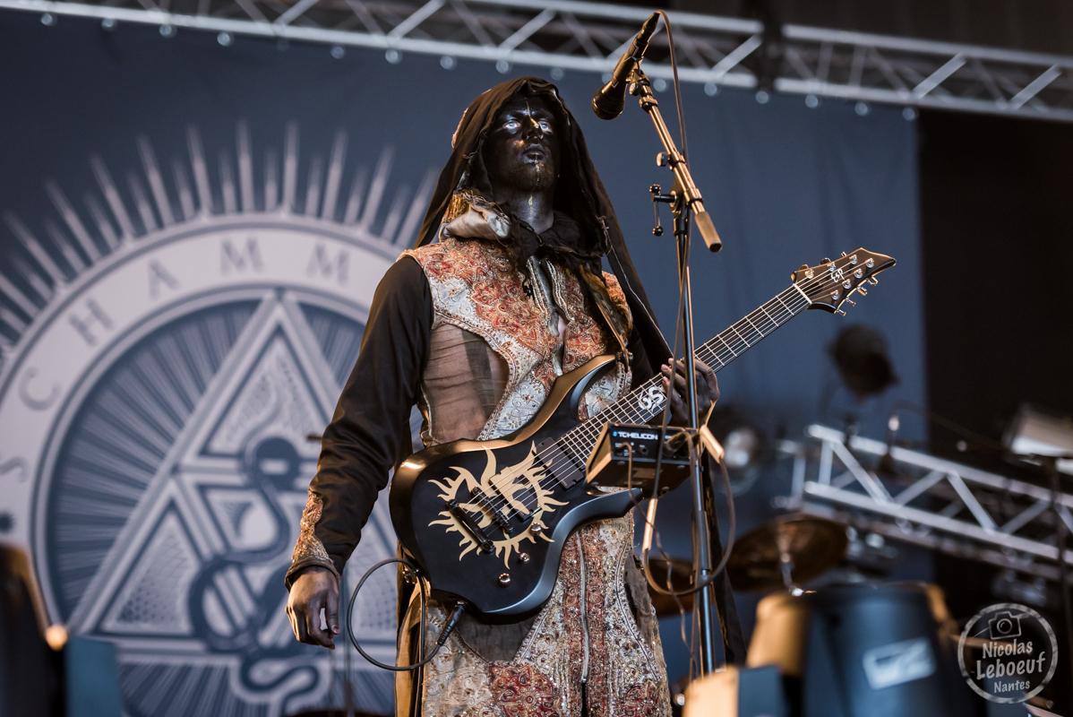 Il s'agit du concert de Schammasch Hellfest 2018
