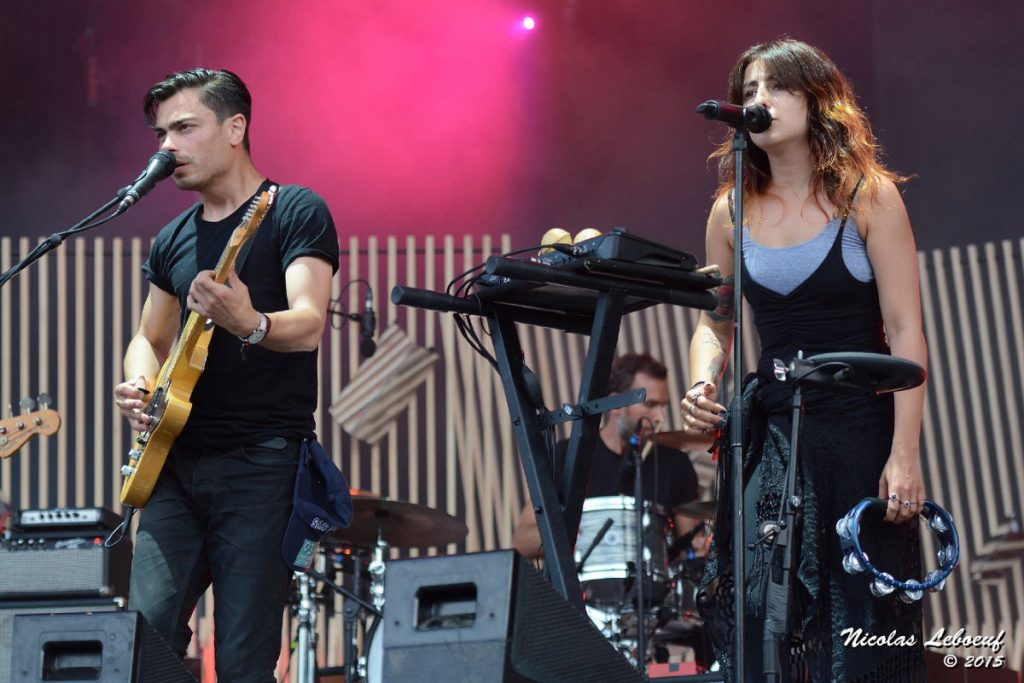 lilly wood and the prick concert Leboeuf Live