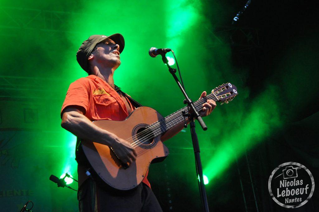 Manu Chao concert Leboeuf Live