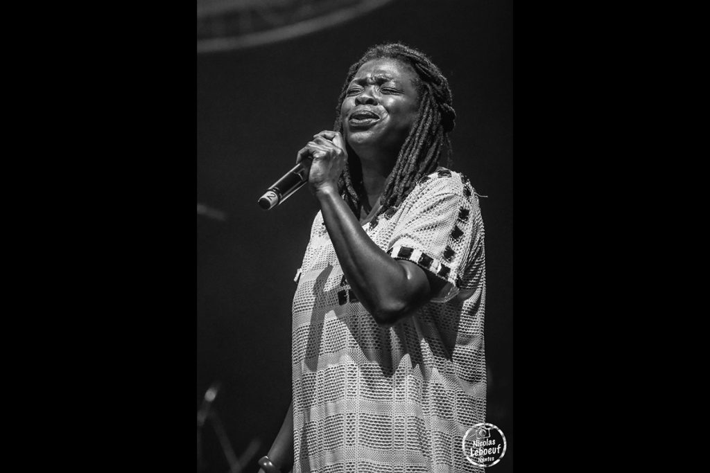 Princess Erika Reggae Party concert Leboeuf Live