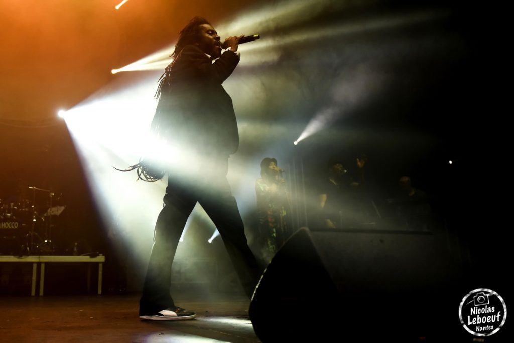 Tonton David Reggae Party concert Leboeuf Live